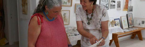 פרק 12 – נוף מקומי ונוף עולמי – ראיון עם האמנית תרצה ולנטיין